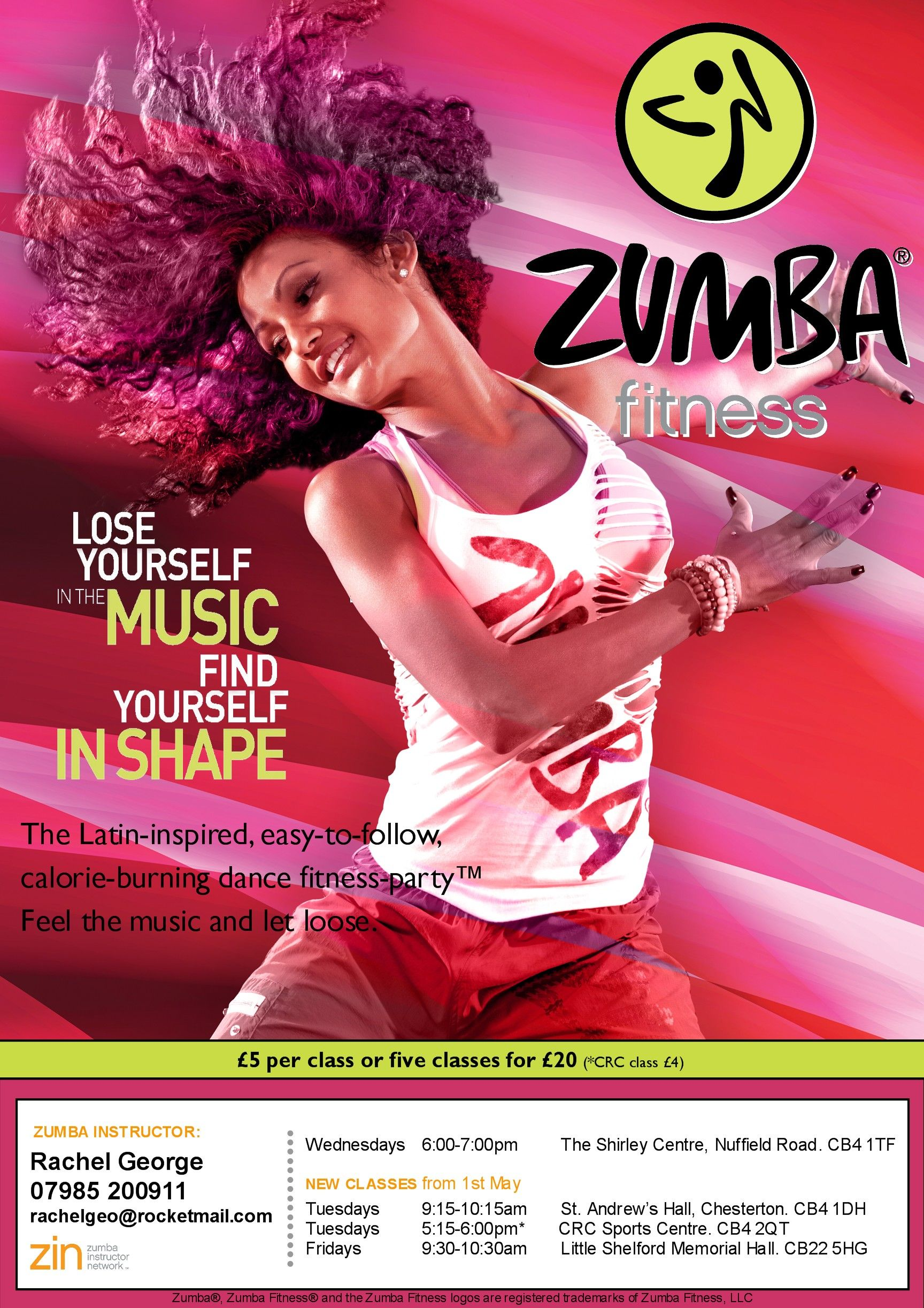 Cum load..Can zumba classes ```? Wow