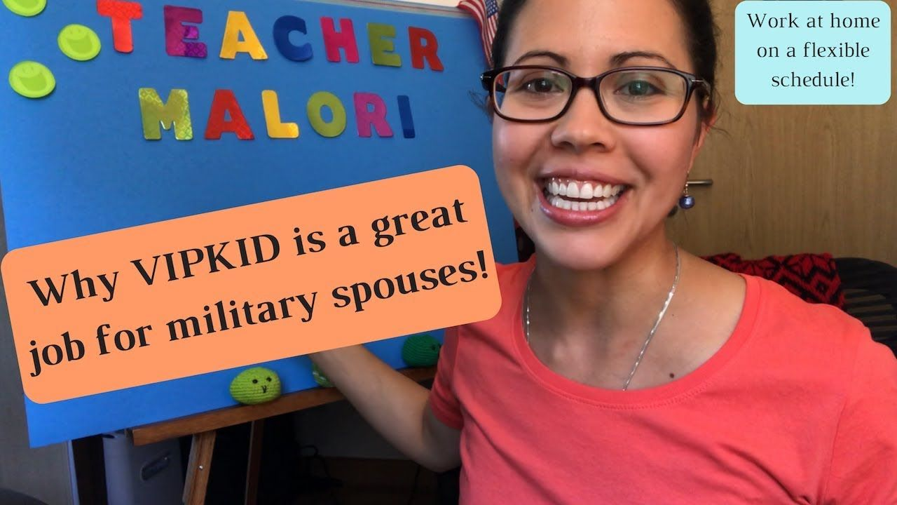 MY EXPERIENCE WITH VIPKID // Military spouse work from