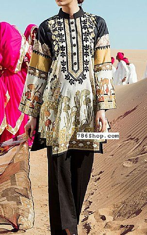 c74e9d07f9 Black Lawn Suit | Buy Cross Stitch Pakistani Dresses and Clothing online in  USA, UK