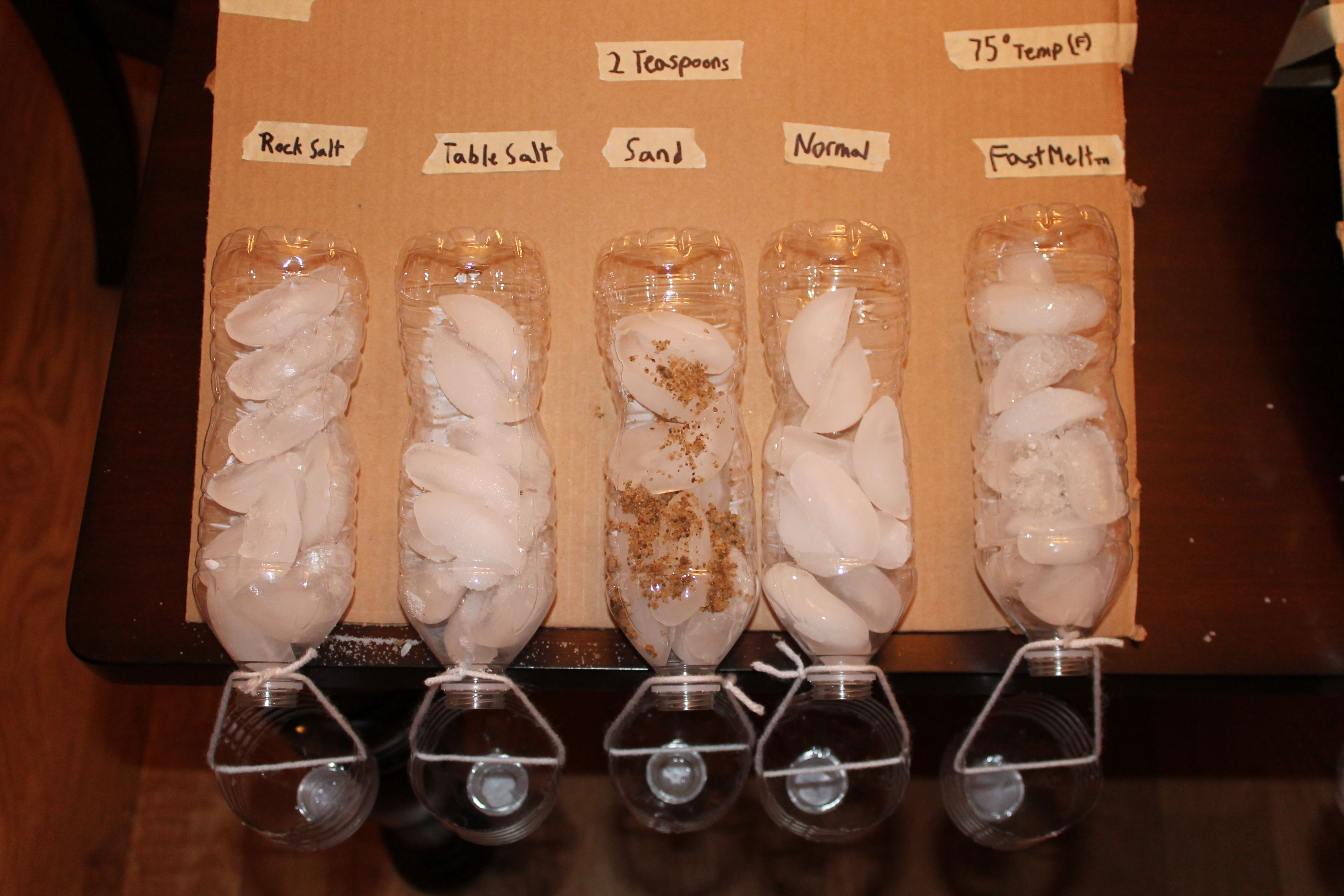 What Makes Ice Melt Fastest Science Fair Projects