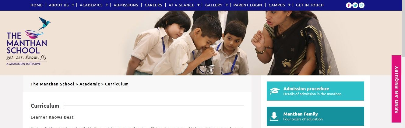 The Manthan is one of the CBSE School in Noida located at
