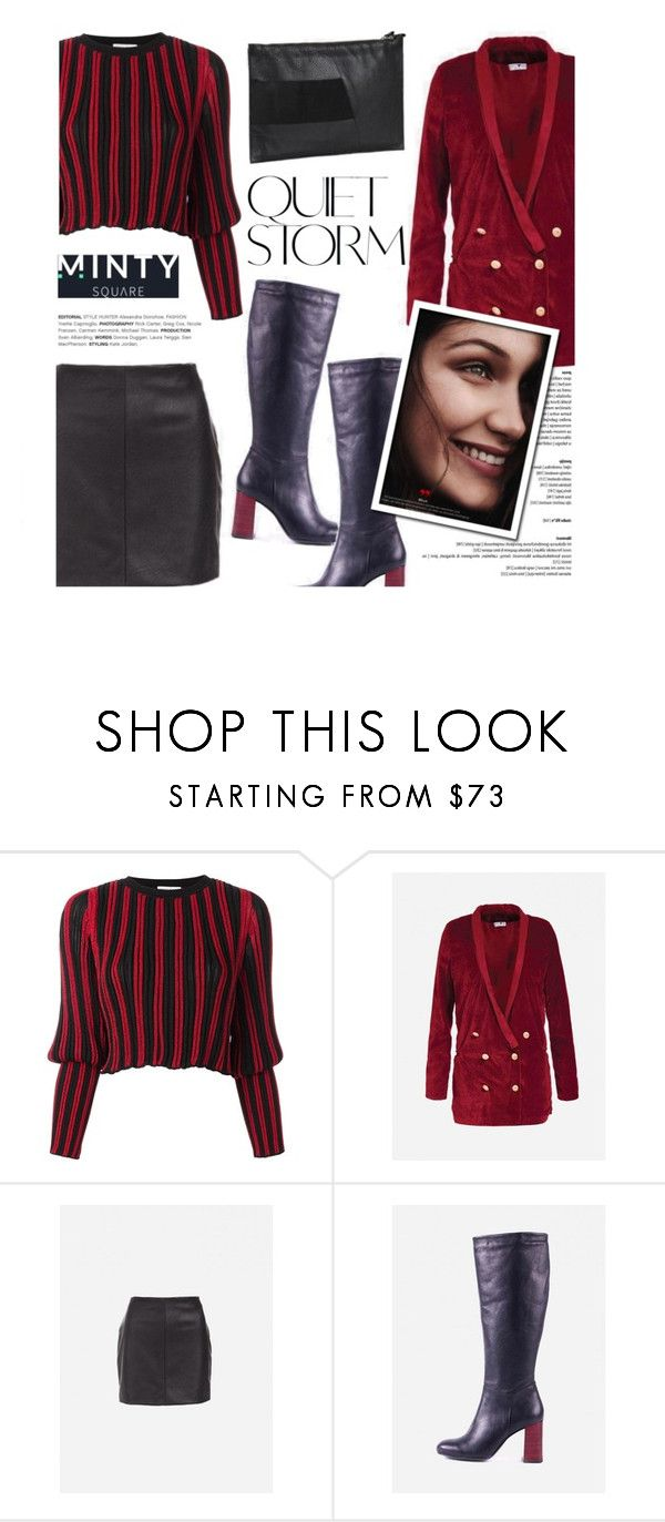 """Quiet storm"" by helenevlacho ❤ liked on Polyvore featuring Sonia Rykiel and mintysquare"