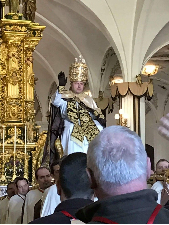 Costume Pape-Pope Blanc Taille M-Papa églises Carénage évêque Kaplan prêtre