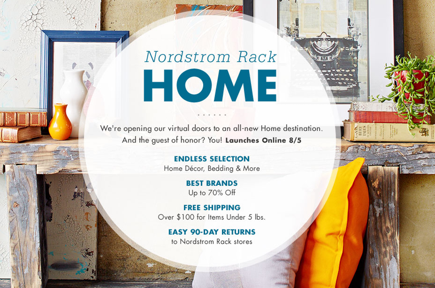 Nordstrom Rack Starts Selling Home Goods Online Tomorrow Home