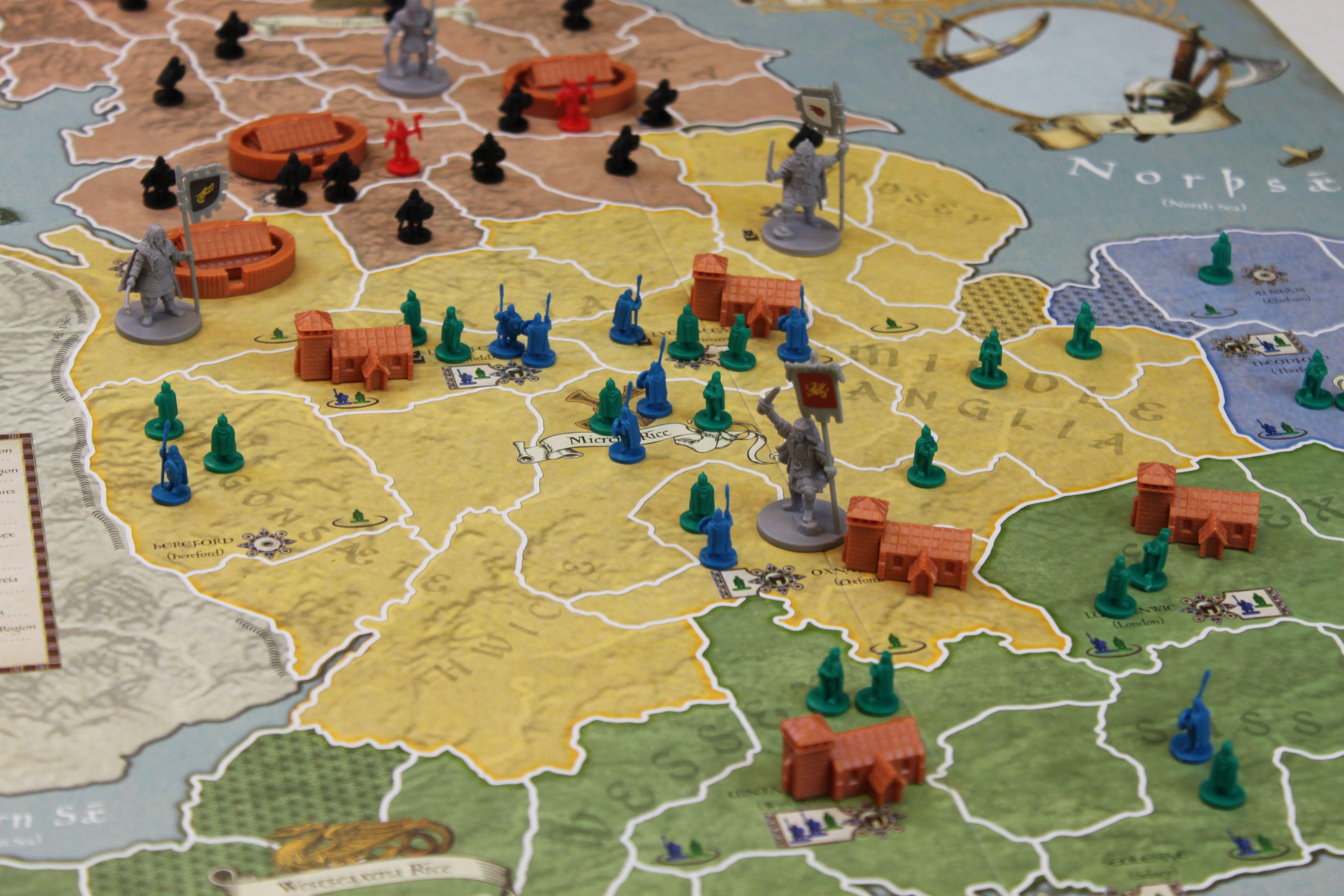 Birth of Europe 878 Vikings Invasions of England