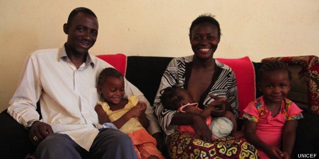 HIV Couple. Three children... HIV free and Dad's role