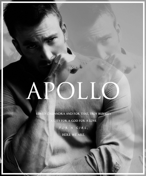 » GREEK MYTHOLOGY [x] apollo, chris evans