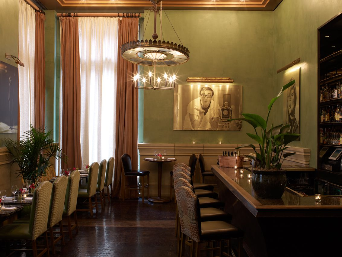 Club Room Bar Soho Grand Hotel Restaurant &