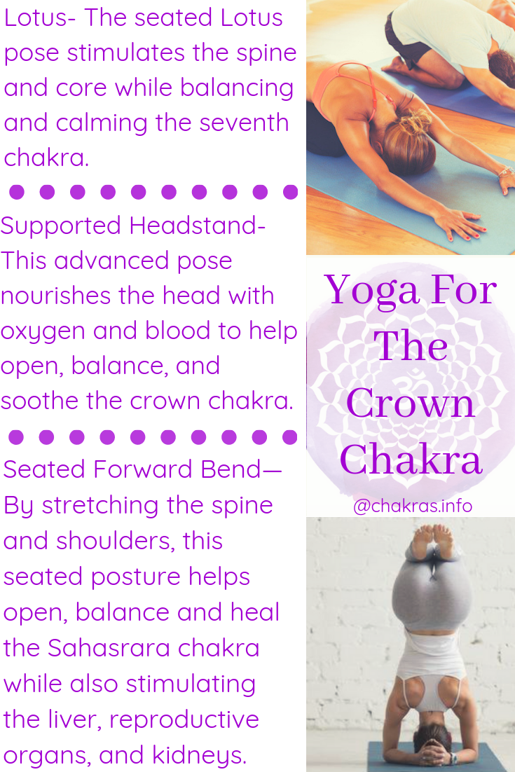 35 Simple Yoga Poses To Activate Your Crown Chakra  Crown chakra