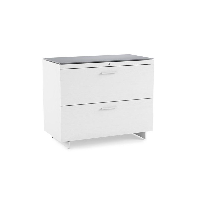 Centro 2 Drawer Lateral File Cabinet Filing Cabinet Lateral File Cabinet Modern File Cabinet