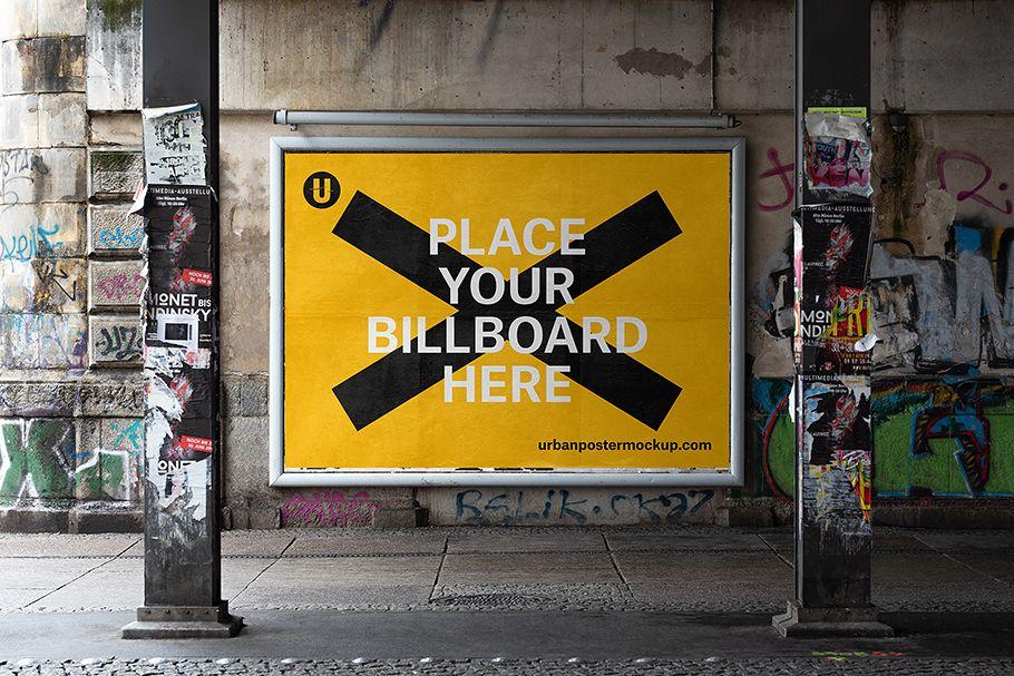 Billboard Mockup Vol1 in 2020 Billboard mockup
