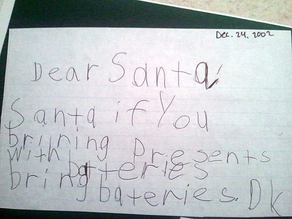 Letters To Santa Show The Funny Sweet And Cute Things Kids Want