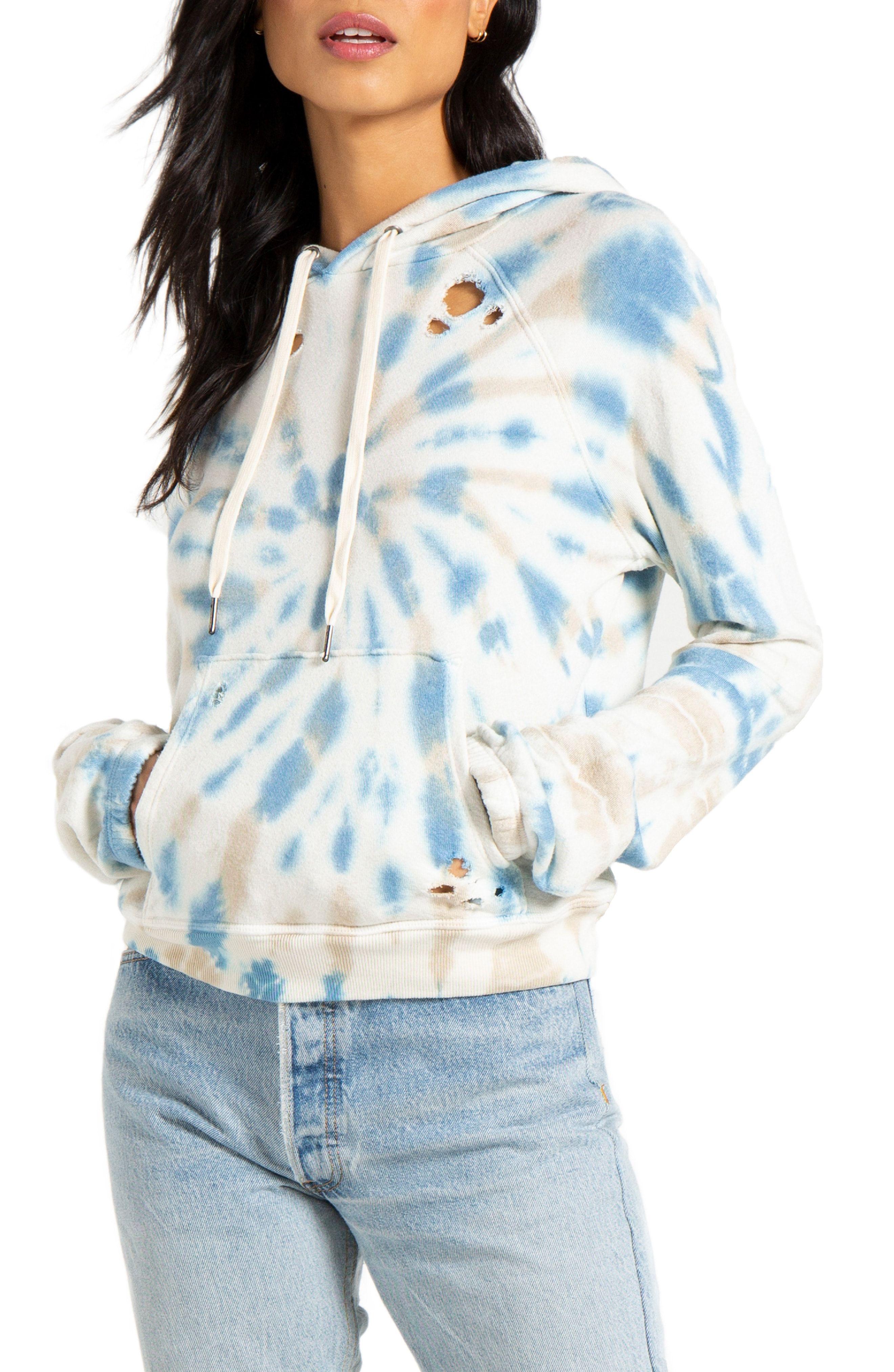 N Philanthropy Gamble Tie Dye Hoodie Available At Nordstrom Tie Dye Tie Dye Hoodie Sweatshirts Women [ 4048 x 2640 Pixel ]