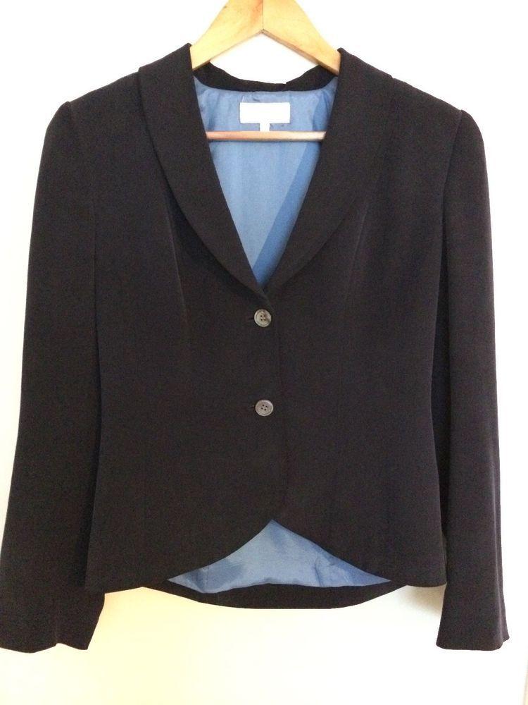 Austin Reed 100 Silk Jacket Blazer Size 8 Uk Immaculate Work Career Smart Fashion Clothing Shoes Accessories Womensclot Silk Jacket Jackets Blazer Jacket