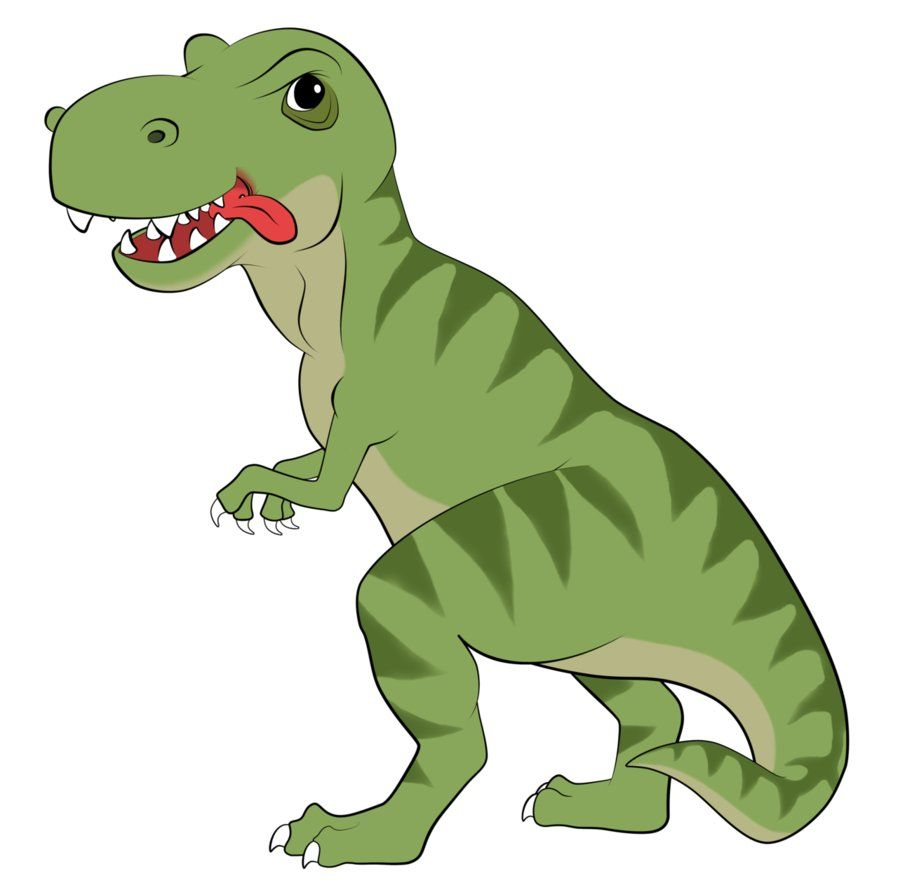 t rex dinosaur cartoon | Rex Cartoon by ~EarthEvolution on ...