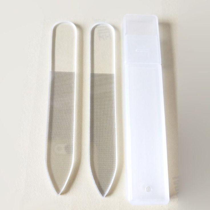 Arrival Buffer Clear File Glass Grinding Manicure Mini Nail Nail Effect Glass Nano Polishing Sanding Tool New Arrival Clear Mini Nano Glass Sandin