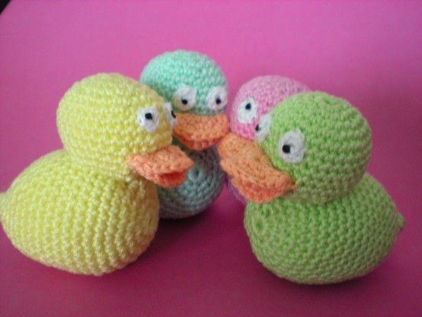 Amigurumi Duck Tutorial : Ente häkeln anleitung amigurumi entchen häkeln