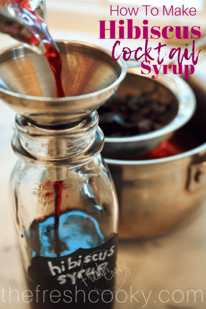 Hibiscus Simple Syrup Recipe With Images Simple Syrup Simple Syrup Recipes Hibiscus