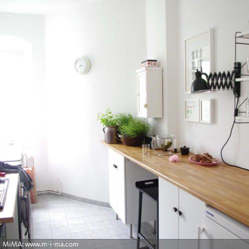 Küche von Bloggerin MiMA - küche aus holz