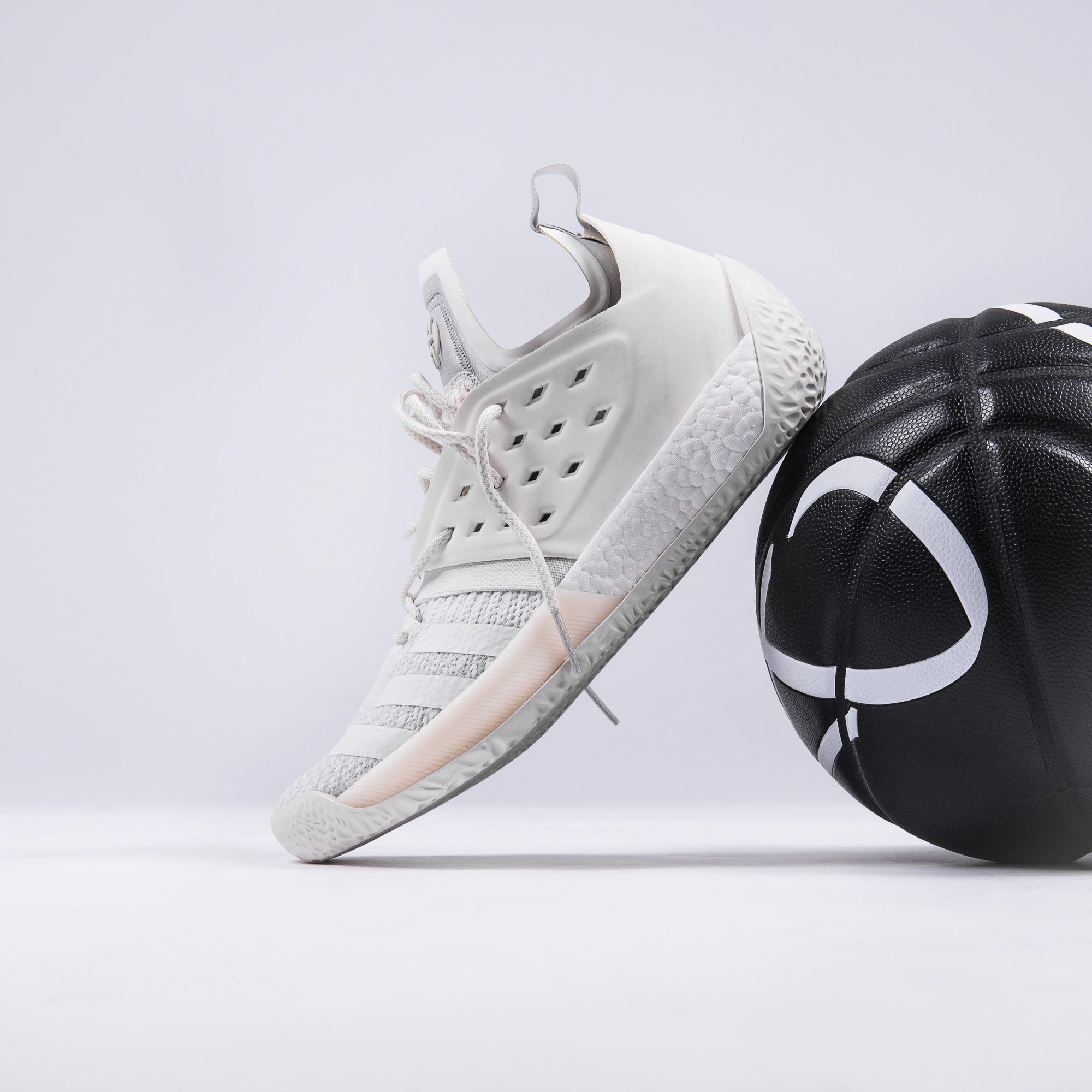 new arrival 47f11 16f3a If you want to feel like walking on air, you gotta get these cloud-white  Adidas Harden Vol2. Cop yours on kickz.com! adidasbasketballshoes
