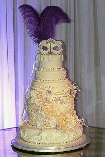 mardi gras cake topper | Jacksonville Wedding Cakes | My Wedding ...