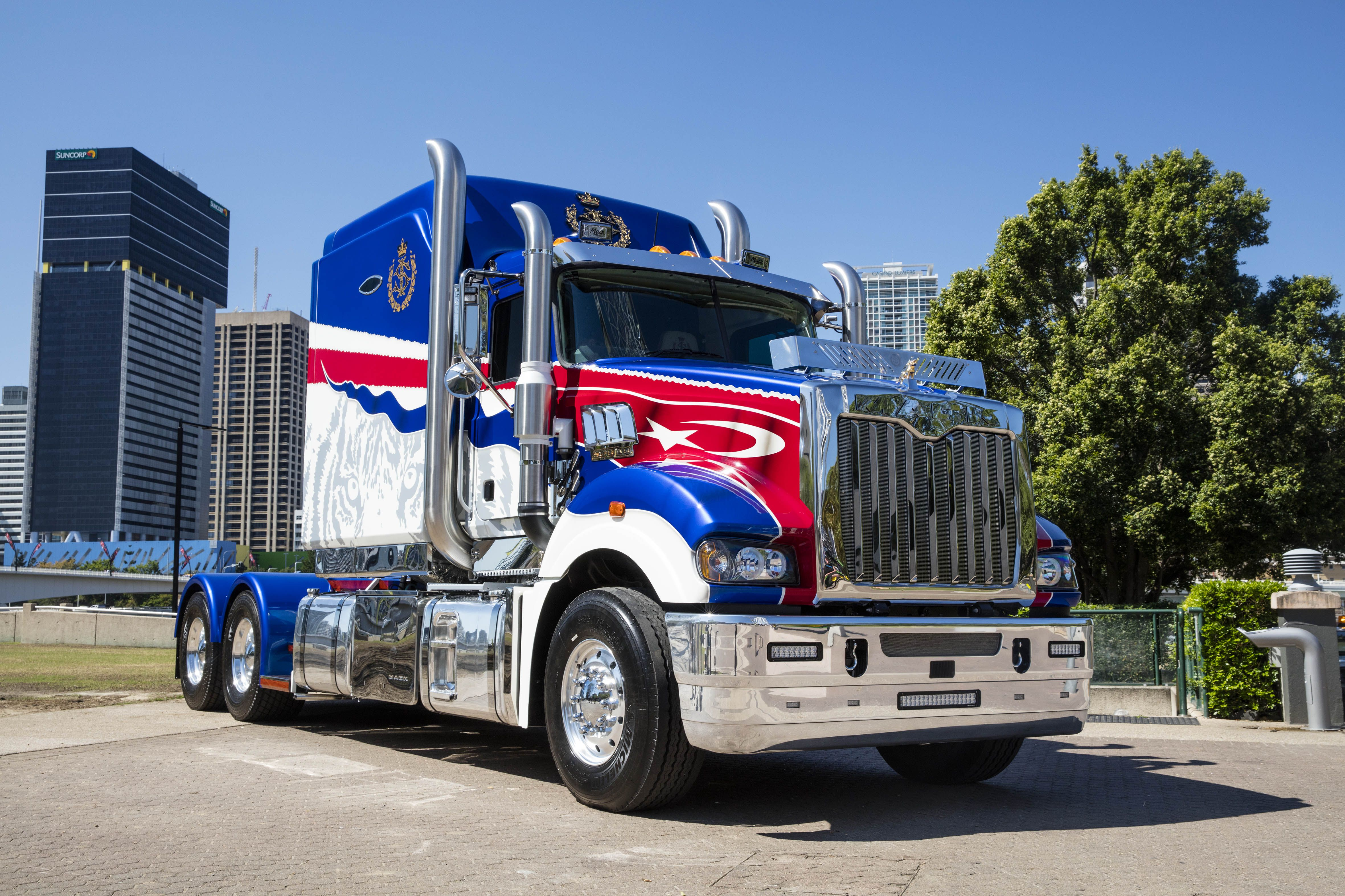 Photo Gallery: Mack builds world's most expensive truck ...