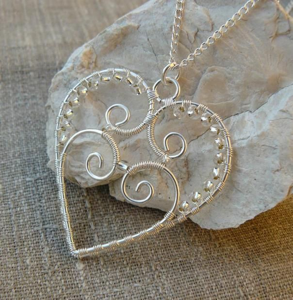 Heart Pendant | Jewelry Making | Pinterest | Draht, Schmuck und ...