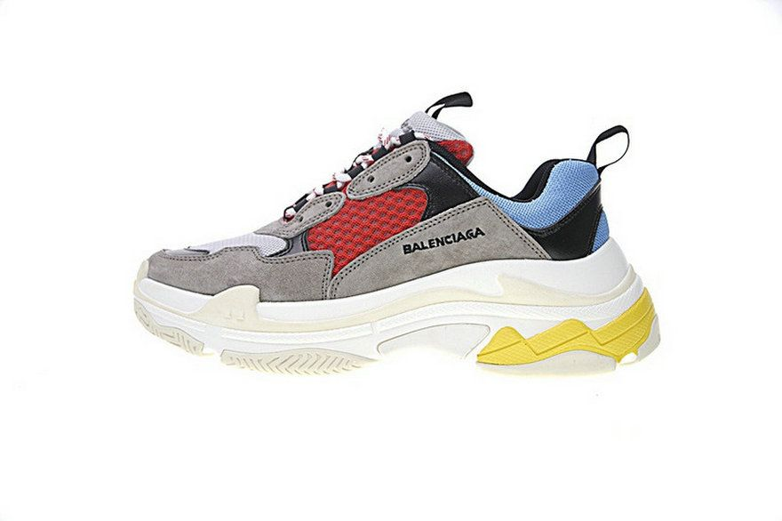 52278dc021f8 Balenciaga Triple S Trainers Beige Red Yellow 656686W06G011002 Latest and  Newest Sneaker
