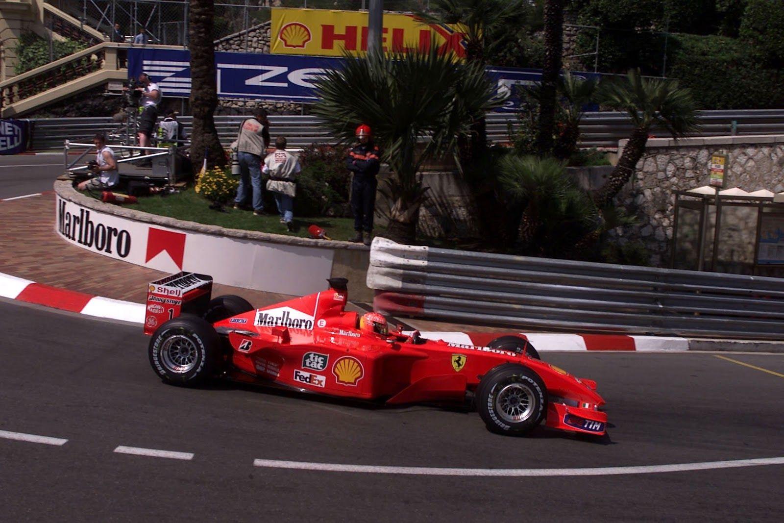 F1 FORMULA ONE LEGEND MICHAEL SCHUMACHER'S FINAL MONACO