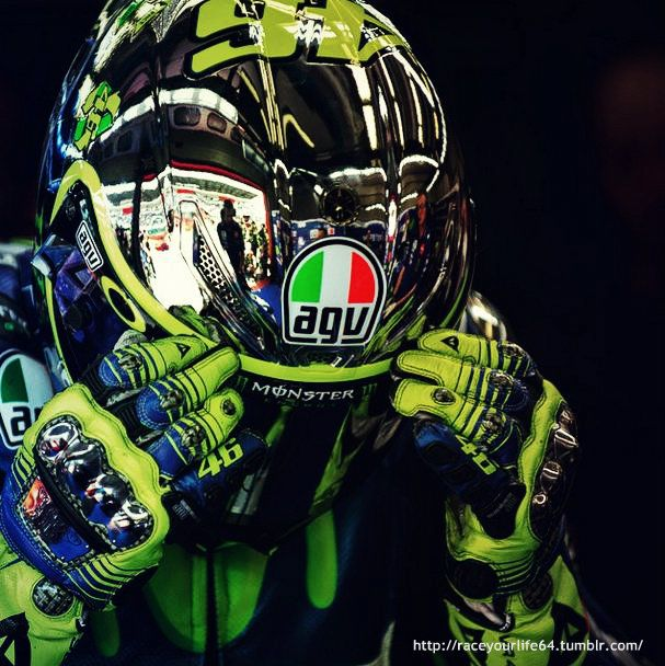 Sportbike society bikelife pinterest valentino rossi vr46 for the 2015 mugello motogp valentino rossi produced a special helmet design that featured solar panels and a mirrored design called yellow energy voltagebd Choice Image