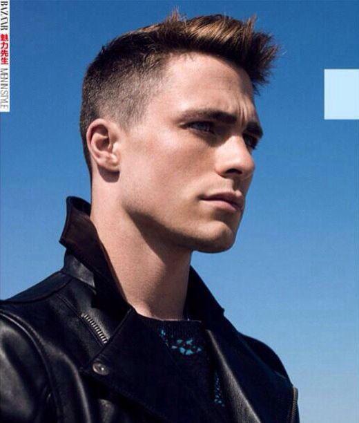 Colton! Harpers Bazaar shoot.
