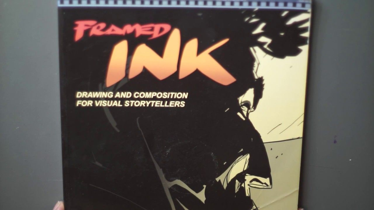 Framed Ink & Manga Masters Book Review