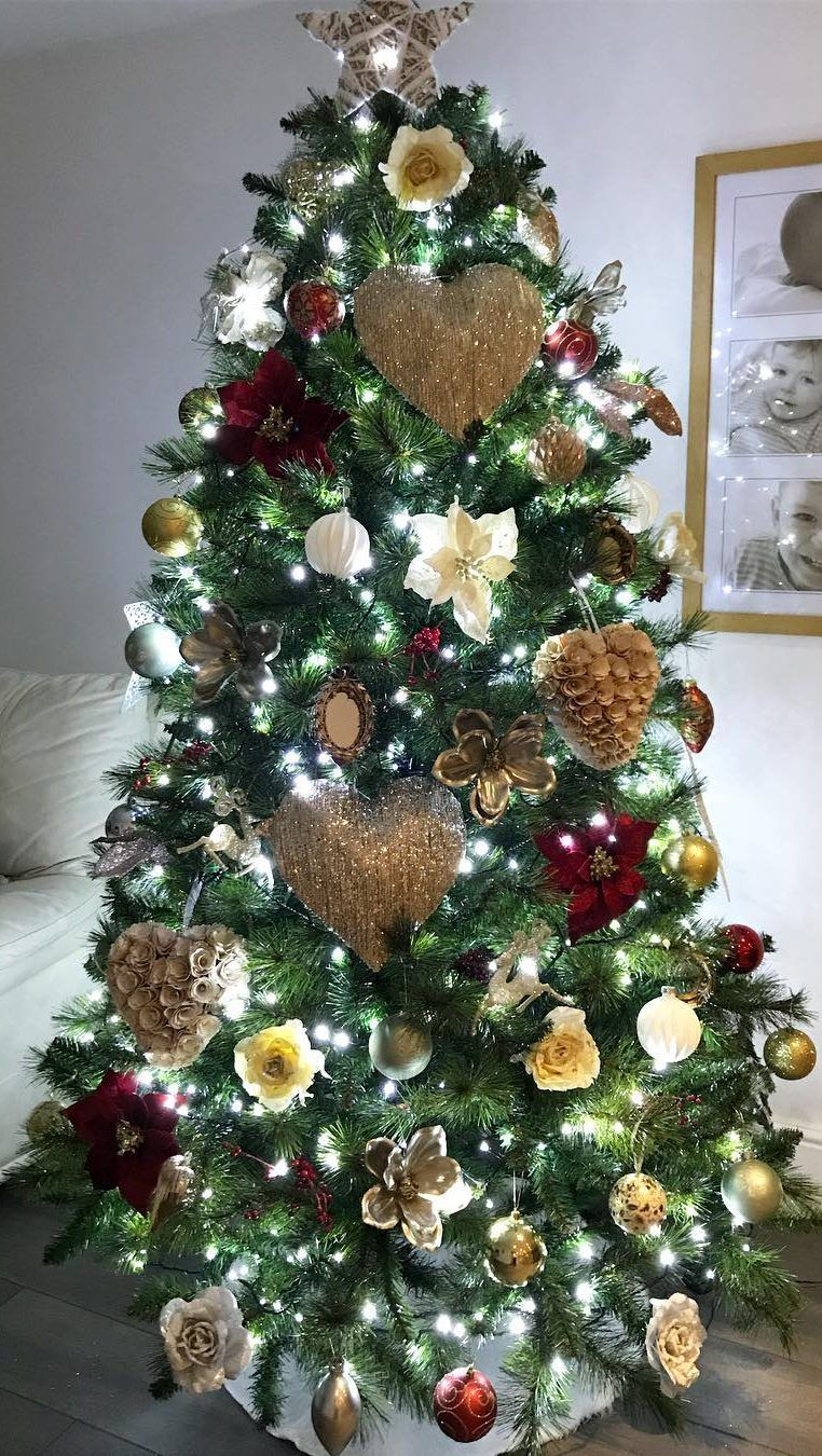 40 awesome christmas tree decoration ideas for new year 2019 page rh pinterest com