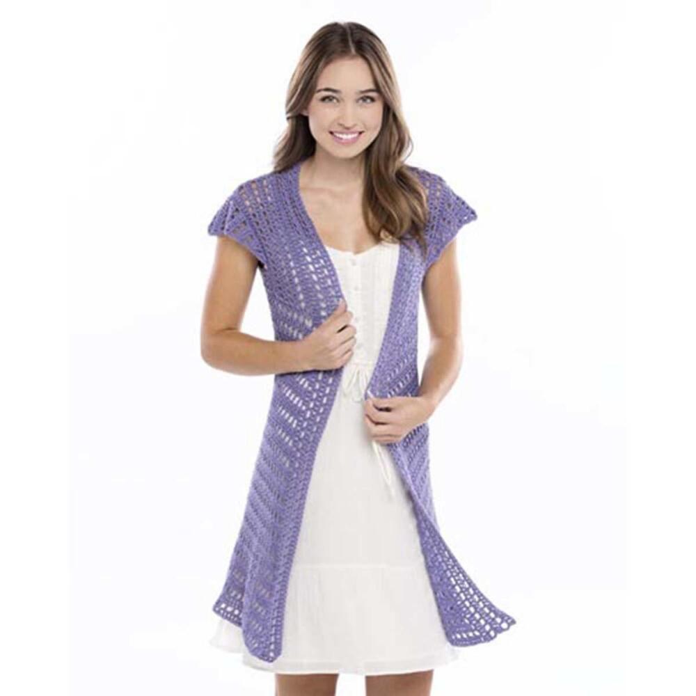 Lacy Swing Cardigan -free crochet pattern- (365 Crochet)   Free ...