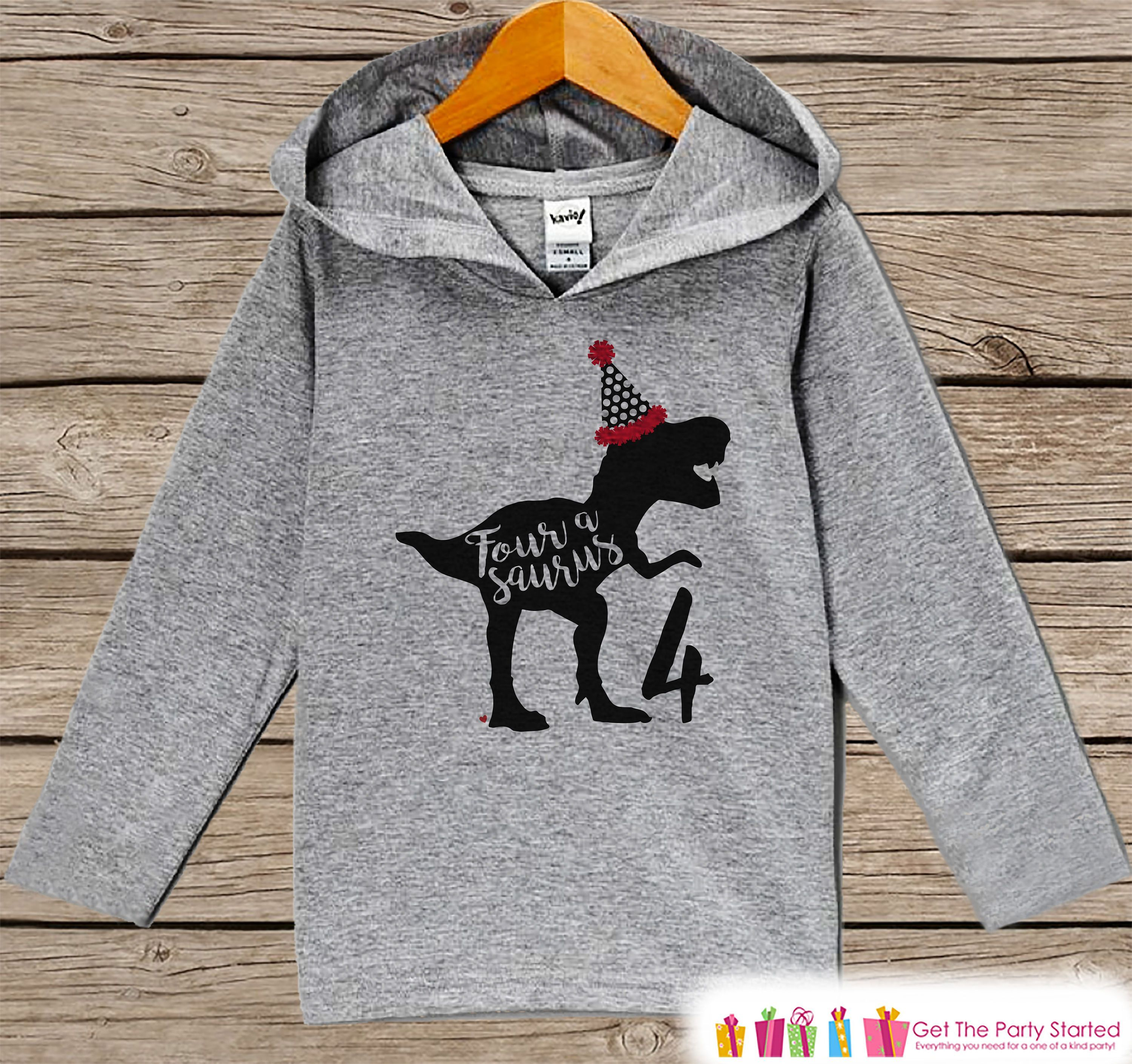 Party Hat Toddler Hoodie Sweatshirt Second Birthday