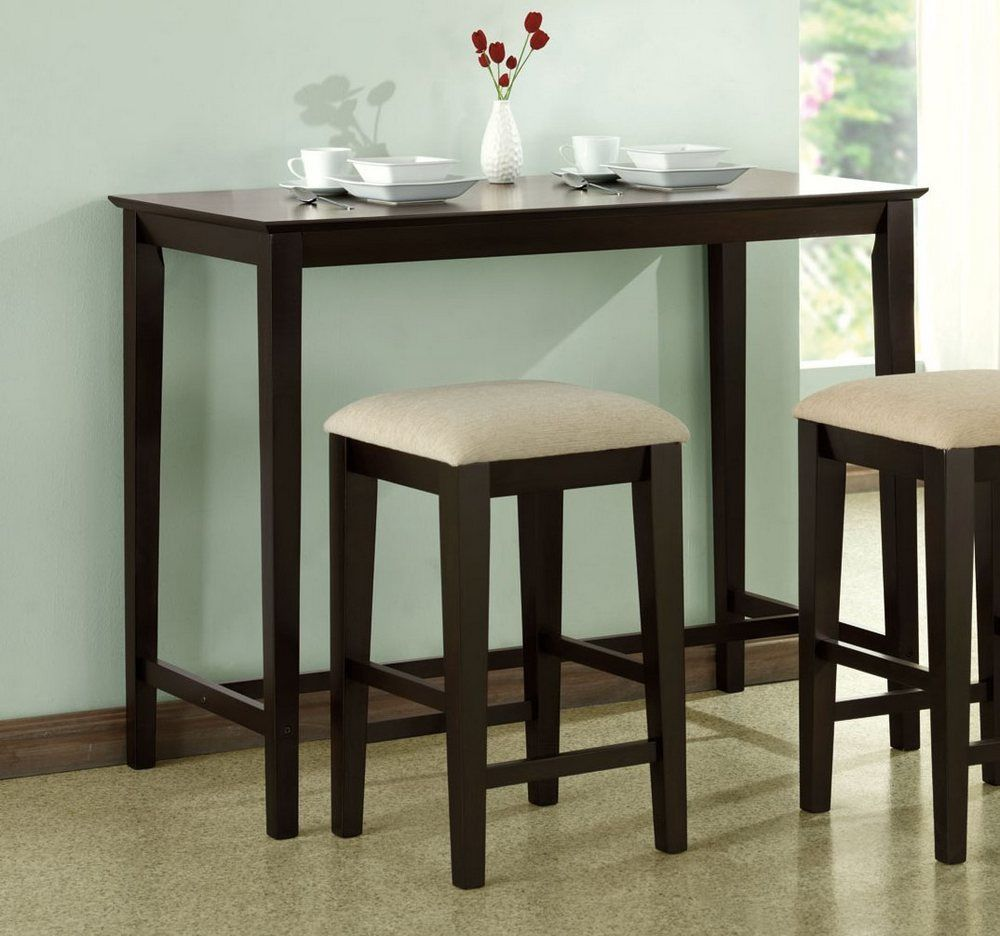 50 small bar height table  elite modern furniture check