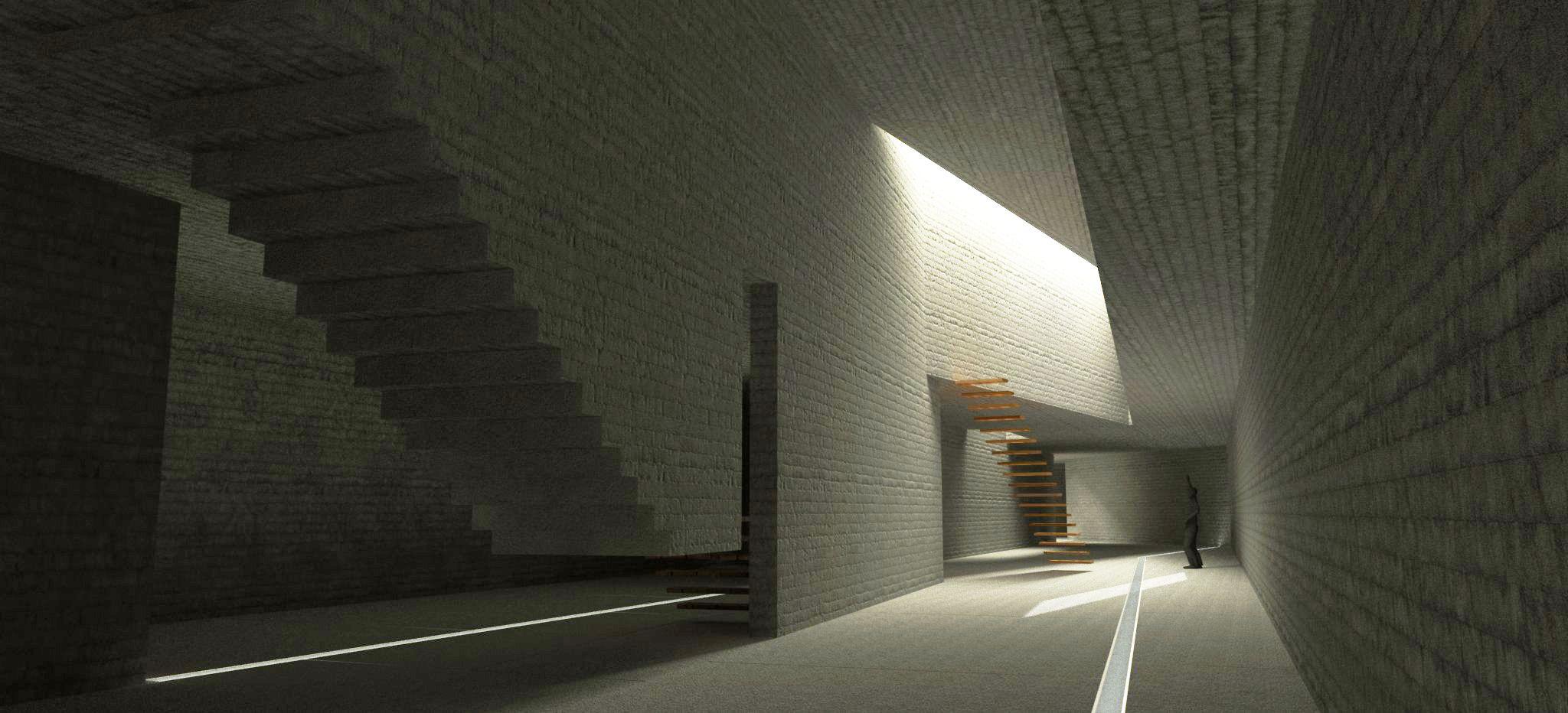 Wine cellar in o ribeiro galicia spain sustainable design