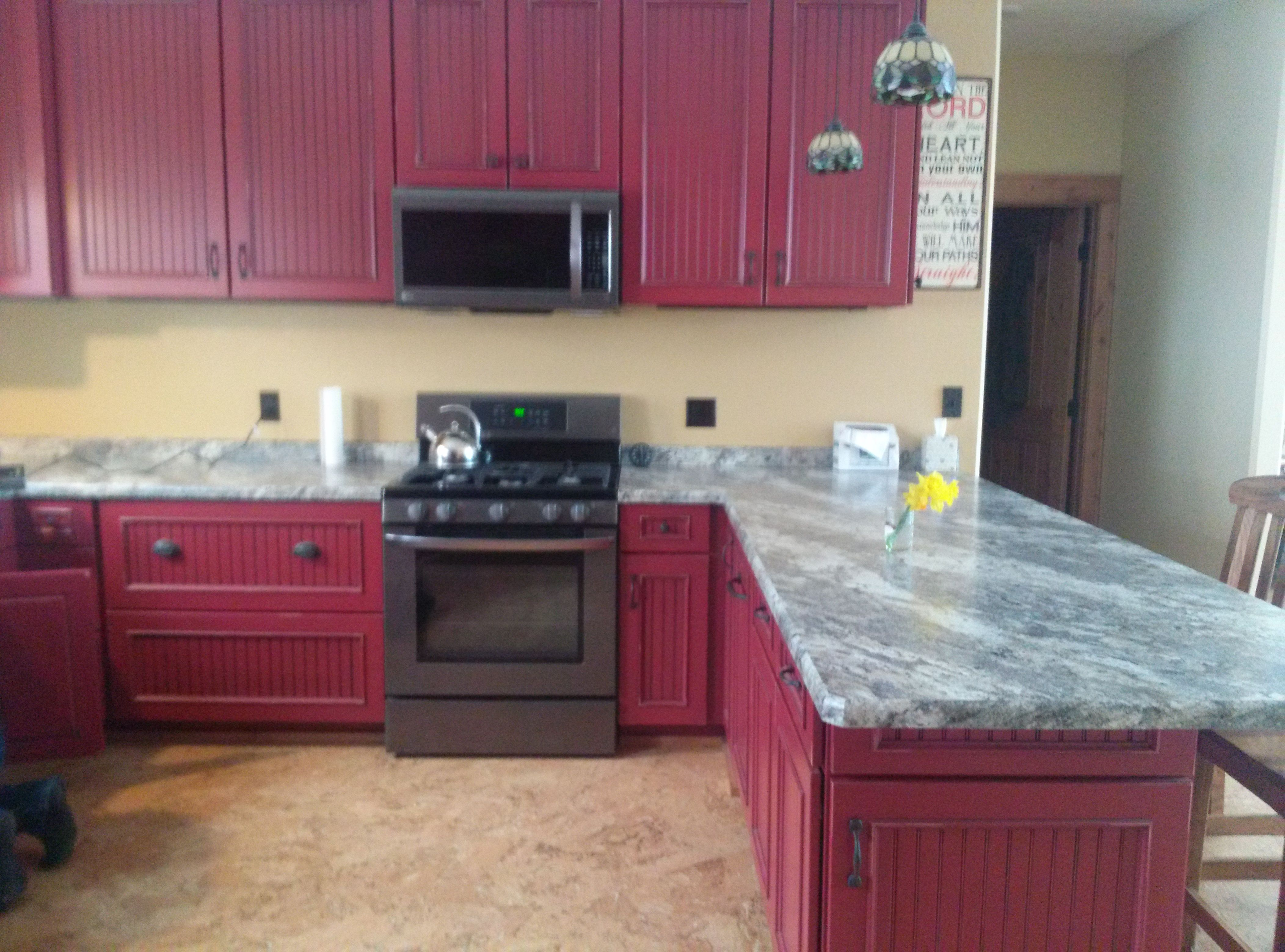 Cafe Azul Laminate Countertops Kitchen Cabinets In Bathroom