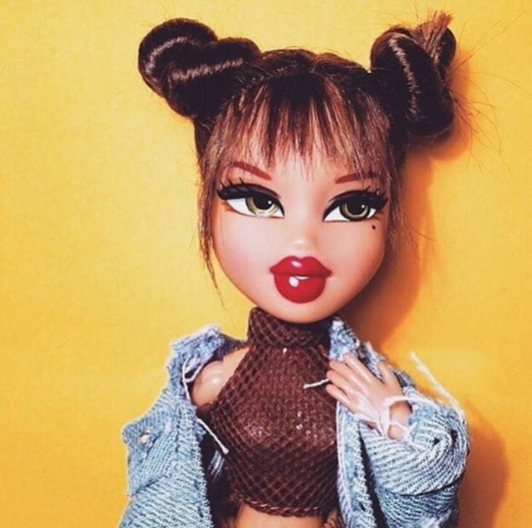 Bratz Were So Bomb My Gosh Bratz Doll Makeup Brat Doll