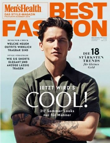 Leebo Freeman for Men's Health Best Fashion