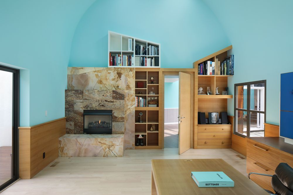 Arredamento Postmoderno ~ Postmodern silicon valley home designed by ettore sottsass asks