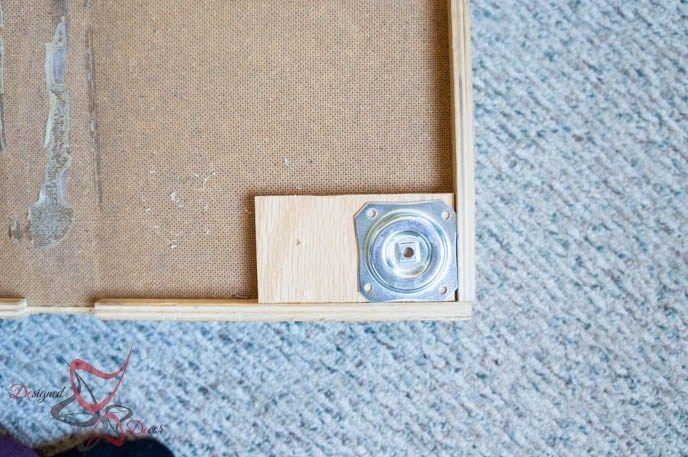 Storage Drawers-DIY- Repurposed- wood legs