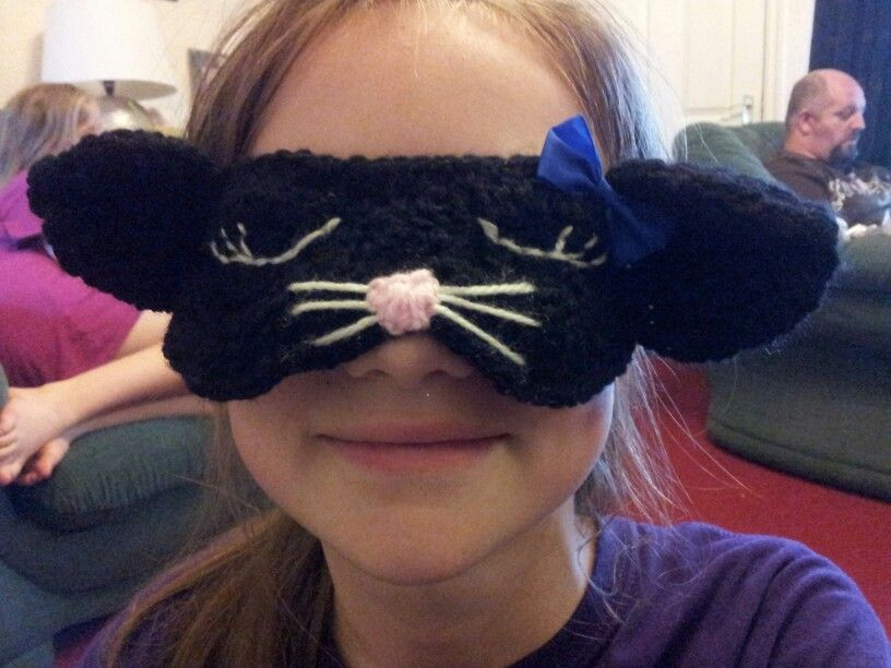 Puddy cat sleep mask - by ME!!
