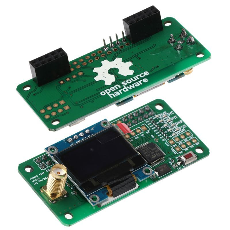 2018 MMDVM Hotspot Support P25 DMR YSF NXDN For Raspberry Pi + OLED+
