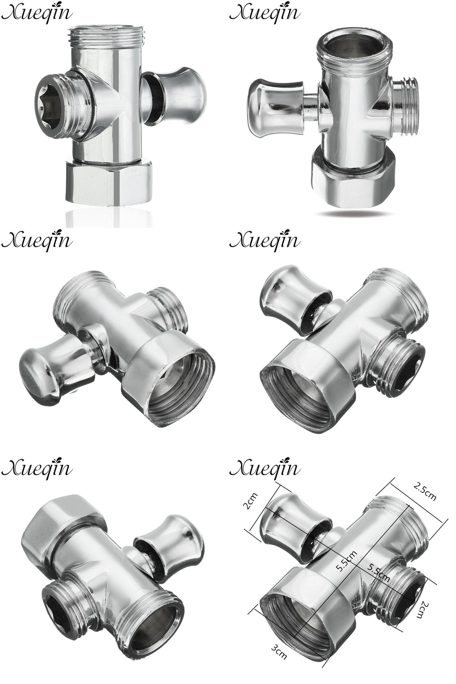 Visit To Buy Xueqin 3 Way Shower Head Diverter Valve 3 4 1 2 Bsp