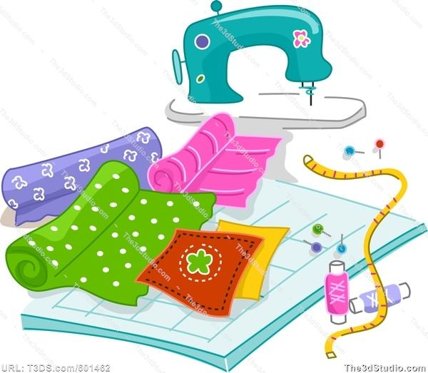 free quilting clip art quilting stock photo stock image. Black Bedroom Furniture Sets. Home Design Ideas