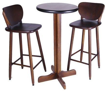 Conjunto Banqueta Boteco Com Mesa Bistro 60x60 Loja Mil Cadeiras
