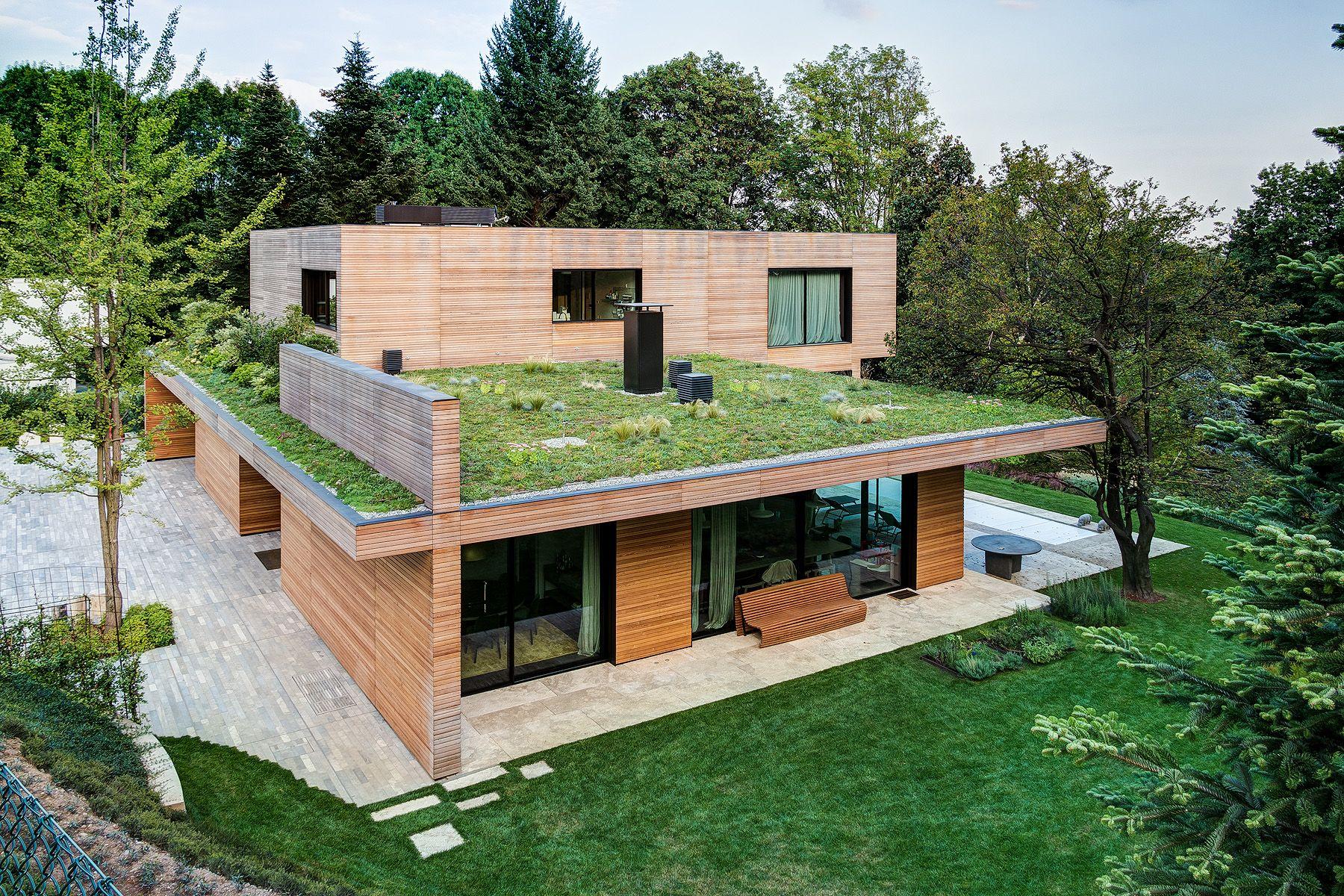 Casa Prefabbricata Design : Villa in legno e casa di design casa prefabbricata in legno di