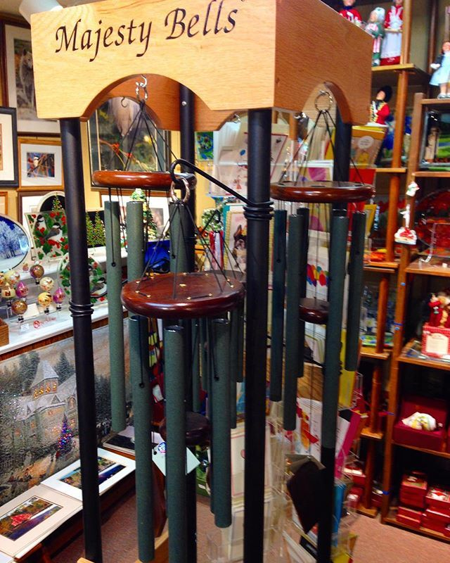 Hand-tuned Wind Chimes with majestic melodies.  #MadeToOrder 44 Main Street #ClintonNJ