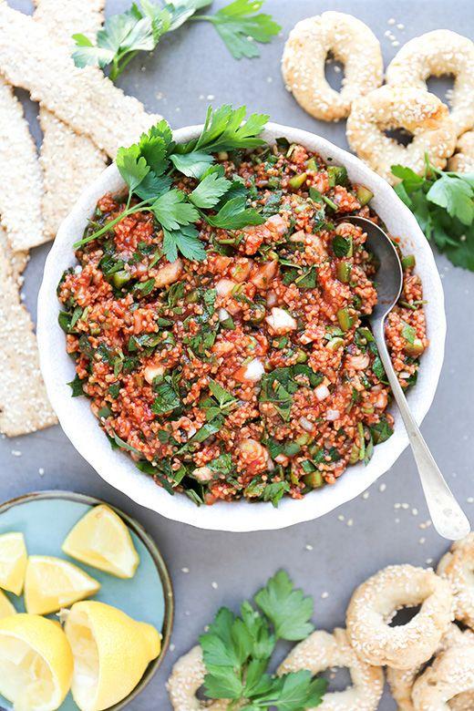 Armenian Bulgur, Parsley and Tomato Salad {Eetch or Mock Kheyma} | Floating Kitchen